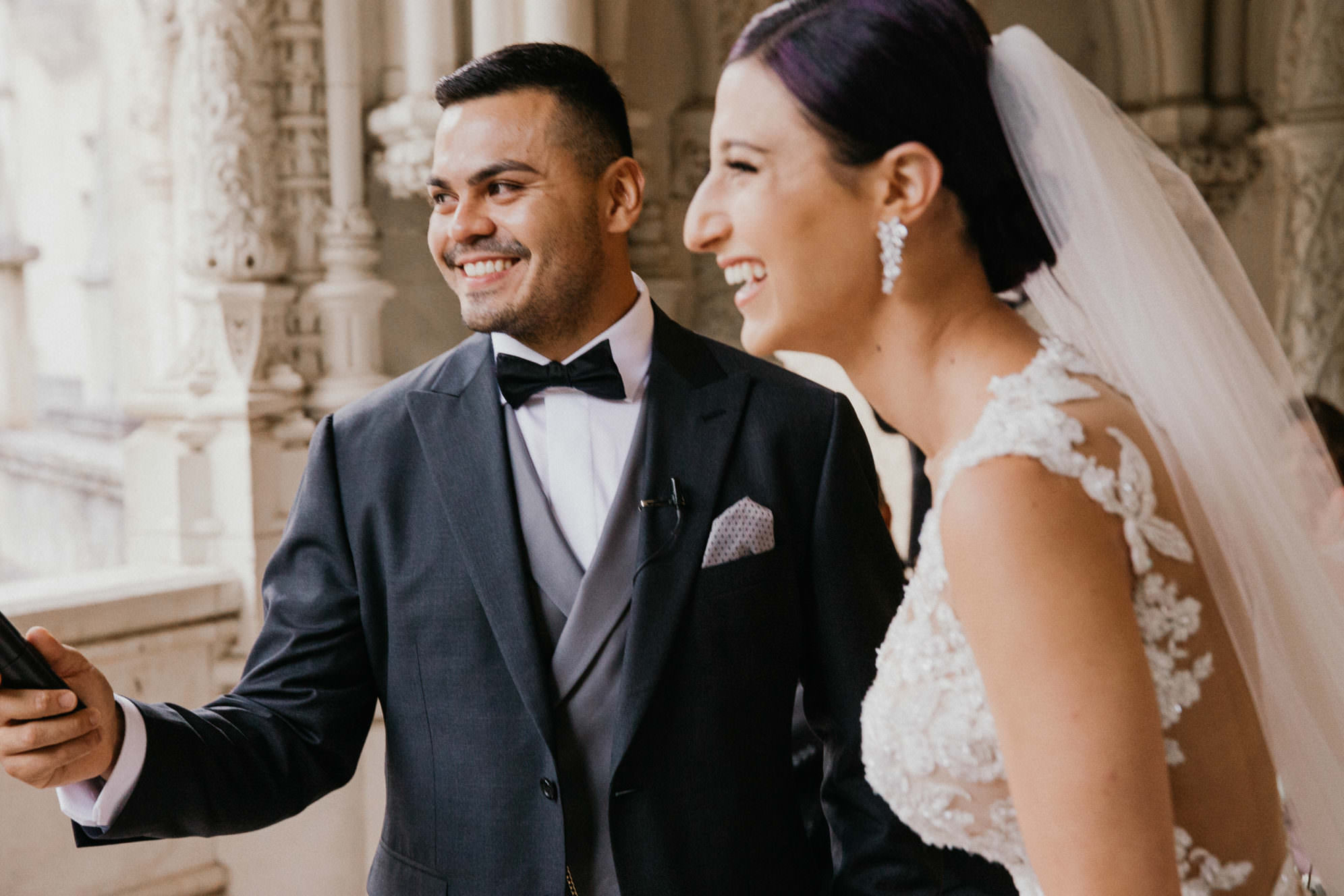 Destination wedding in Portugal at Bussaco Palace